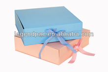 Fashion personality customized paper gift pack box