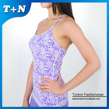 gym fancy ladies tops latest design hot girls sexy tank top