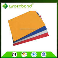 Greenbond acm panel building material with good quality of 3mm alucobond acp