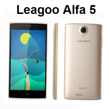 Cheap chinese android phone LEAGOO Alfa 5 Smartphone 5.0 Inch Quad Core 1.3GHz 1GB 8GB HD Screen 8.0MP