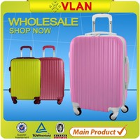 abs printed hard shell luggage spinner trolley case luggage secret compartment