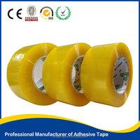 yellowish packaging tape