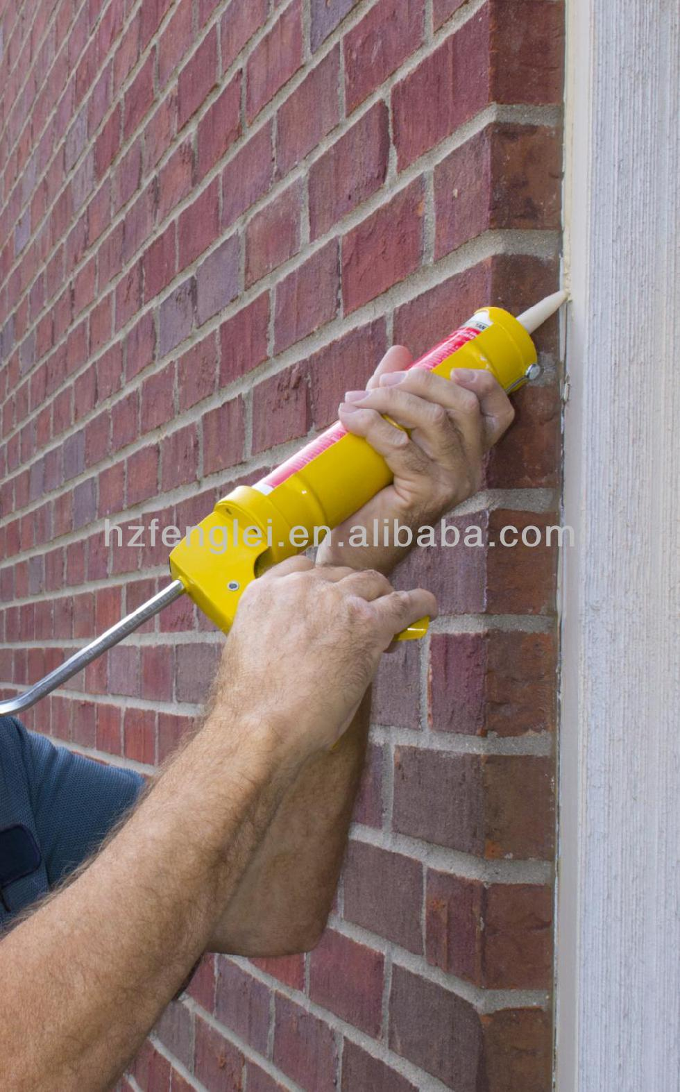 Neutral water-proof construction silicone sealant