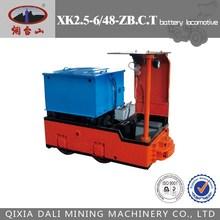 Électrique locomotive pour exploitation minière souterraine