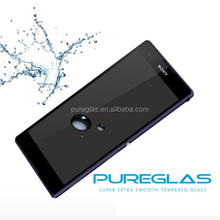 Hot Trading Product High Clear 9H 2.5D tempered glass screen protector for SONY Z3 Compact