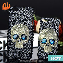 2015 new trendy products skull mobile phone case for iphone 6 best selling products
