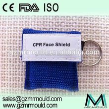 first aid cpr breathing face mask with one way valve