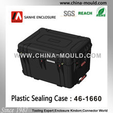 hard plastic case with foam