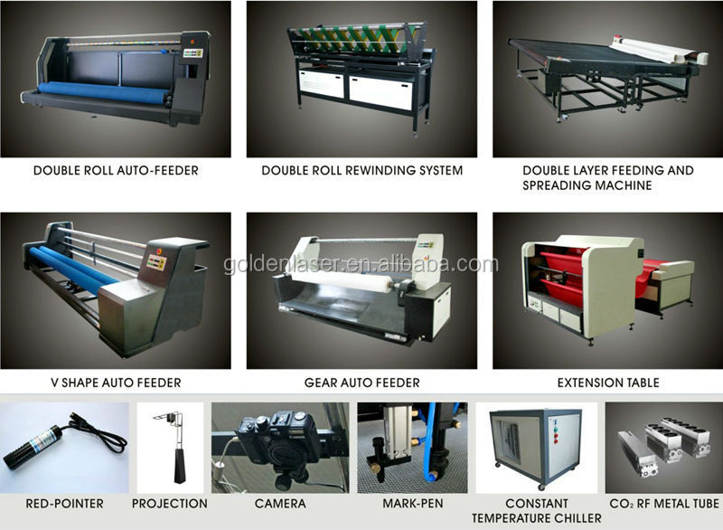 optional for fabric laser cutting 800