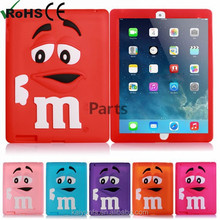 2015 popular m&m's cover for ipad cover cartoon case for Ipad cover