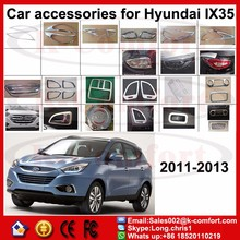 KCOMFORT chrome auto accessories front grill Exterior Accessories For Hyundai IX35 2011 2012 2013