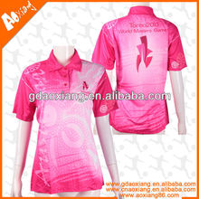 Digital color printing 100%polyester T shirt