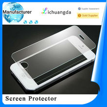 Newest round angle toughened glass screen protector for iphone 5/5s5 samsung galaxy mobile phone accessory accept paypal