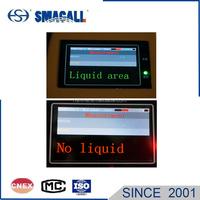 level instruments portable Ultrasonic Liquid Level indicator with intelligent sensor features adjustable range settings