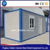 Expandable Cabin Foldable Container House Steel Structure Building 20ft Container house