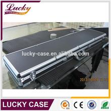 "53"" Aluminum Locking wholesale gun case with egg foam and black color"