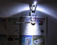 Hot selling led reading light / clip reading light / mini book light