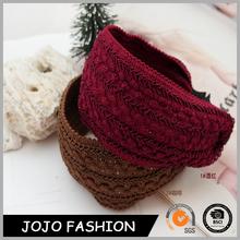 Latest Designs Wide Woven Autumn Fall Wear Cotton Headband Hair Hoop Hairband