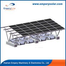 Wholesale China resident pv solar carport installation