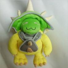 2015 plush toys Hero alliance dragon turtle plush dolls