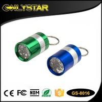 best led flashlight hand torch light, keychain flashlight flat led flashlight, mini led flashlight keychain