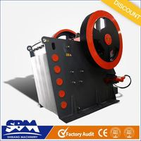 SBM PEW jaw crusher characteristics with high capacity and low price
