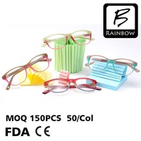 Fashion spec eyeglass frames for young girls