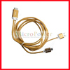 200cm length Micro USB to HDMI 1080P MHL Cable for Samsung Galaxy