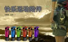 Water bottle shape bluetooth outdoor sports mini speaker