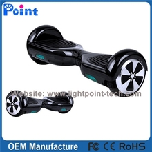 New fashion IP5 self balancing electric scooter with cool led light