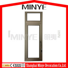 INTERIOR WINDOW S55 ANODIZED STANDARD ALUMINUM CASEMENT WINDOW CHILD SAFE CHILD PROTECT ALUMINUM WINDOW CHINA SUPPLIER