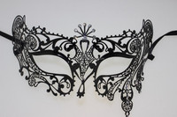 New design popular best sell venetian party supplies metal masquerade mask