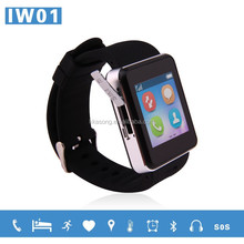 1.54 inch silicon medical touch screen GPS+GSM G-sensor pedometer smart watch 2015