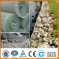 River bank protective hexagonal gabion wire mesh for protecting