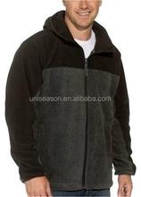 European style hot sale 300g men fleece jacket