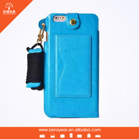For iphone 6 leather case phone cover