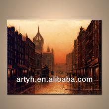 New Arrival Handmade Paris Stylel Oil Painting