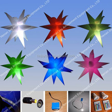 2015 party and events decoration inflatable star 50cm, small inflatable star with wholesale price