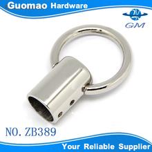 Round design zinc alloy metal belt buckle clip