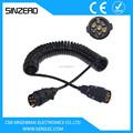 Remolque& camiones cable eléctrico/tractor remolque cable/tambor de cable de remolque