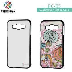 New Products 2D Sublimation Phone Case for Samsung Galaxy E5