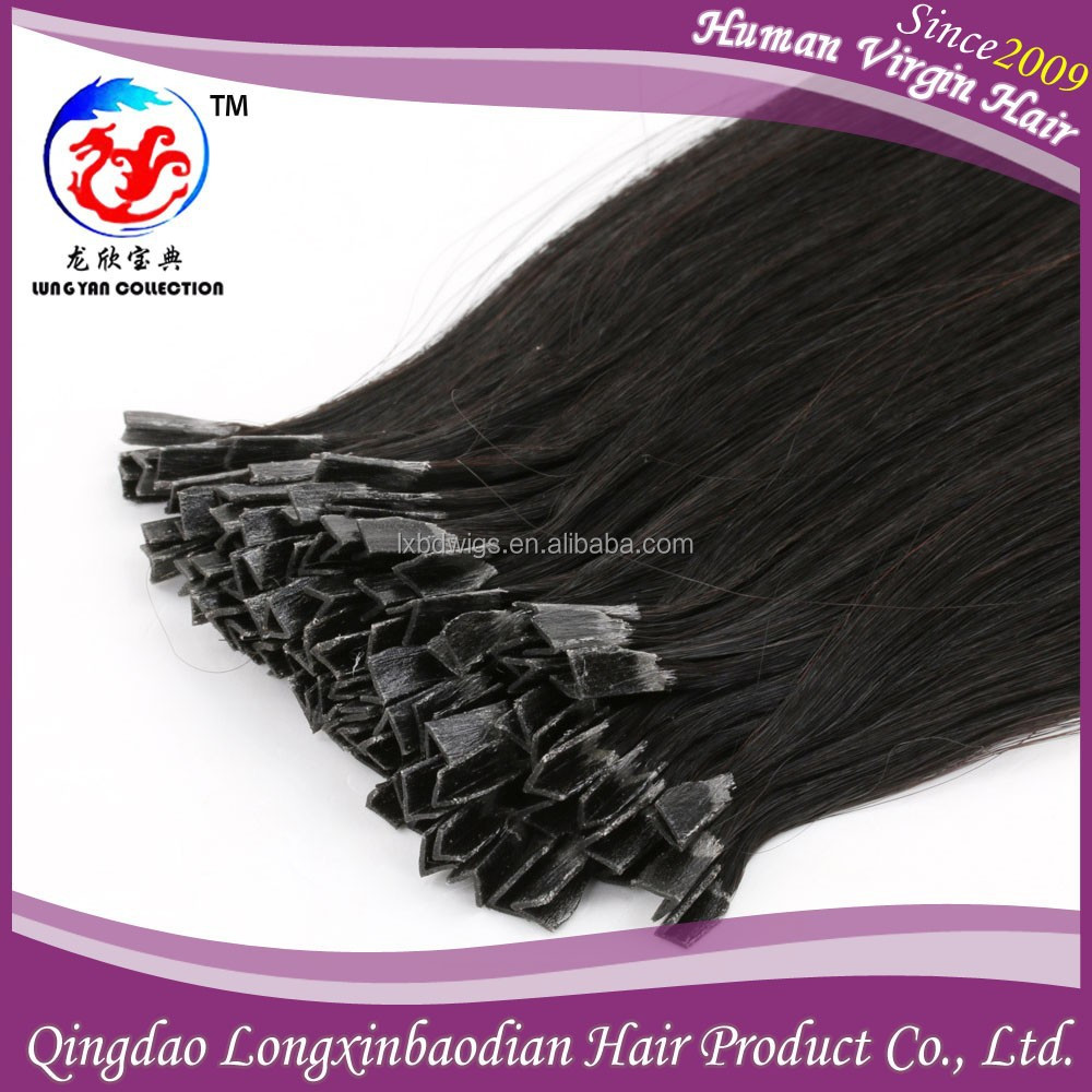 Malaysian I Tip Hair Extensions 10