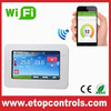 Touch Screen WIFI Thermostat for controlling heating system