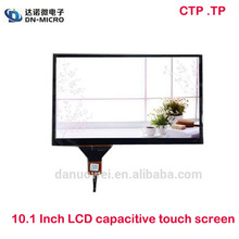 OEM hot sales LVDS 10.1 inch LCD touch screen with capacitive panel for tablet PC