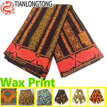 High quality super wax hollandais cotton fabric online import and export