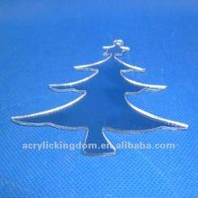 mirror hanging acrylic christmas tree