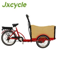 pedal electric assist cargo bike tricycle