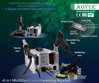 AOYUE INT2703A+ Lead Free Hot Air Rework Station Soldering Iron Desoldering Gun