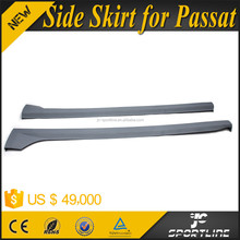 PU Auto Car Side Skirt for VW Passat B7 US Version JC Style