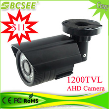 """2015 best selling 1/4"""" CMOS 3.0MP outdoor security bullet camera 720P"""